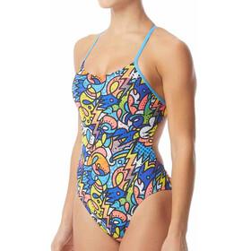 TYR Astratto Cutoutfit - Bañador Mujer - Multicolor